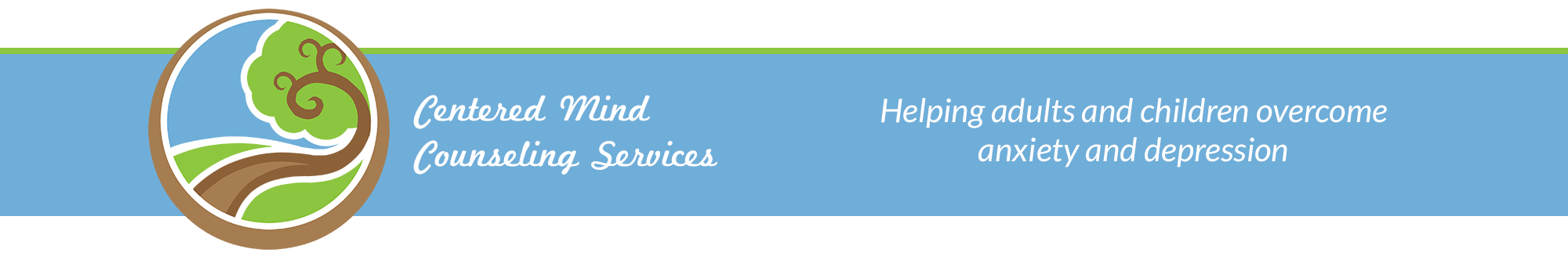 Centered Mind Counseling Services header image